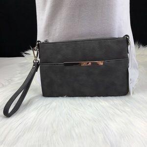 Handbags - Pattaya Gray wristlet / crossbody